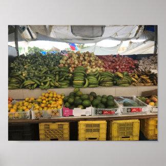 Poster L'affiche «fruit marché».