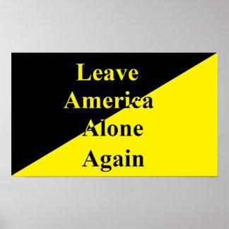 Poster Laissez à l'Amérique la seule encore affiche