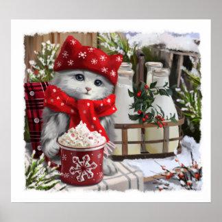 Poster Lait de neige