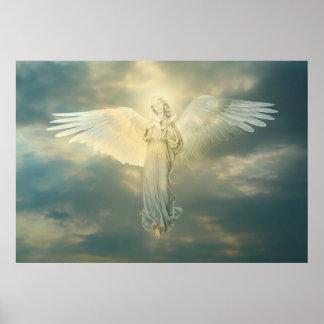 Poster L'ange et la colombe
