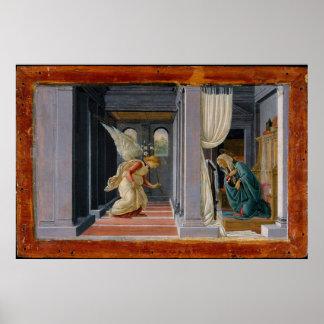 Poster L'annonce, circa 1485