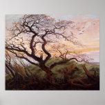 Poster L'arbre des corneilles, 1822