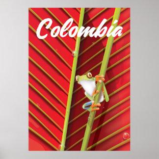 Poster L'Arizona l'affiche vintage de voyage d'état de