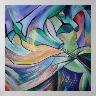 Poster L'art de la danse de ventre