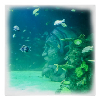 Poster L'Atlantide sous la mer