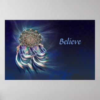 Poster L'attrapeur rêveur… croient