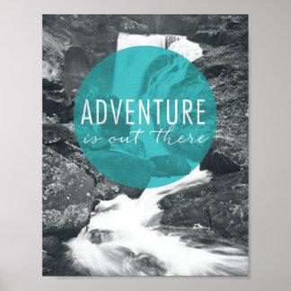 Poster L'aventure des rivières | est là citation