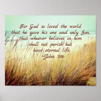 Poster Le 3h16 de John pour Dieu a ainsi aimé le monde,