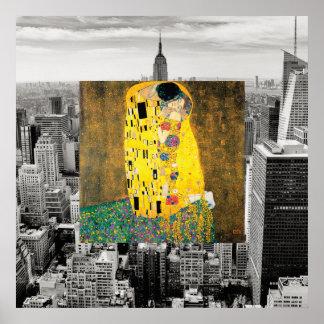Poster Le baiser de New York