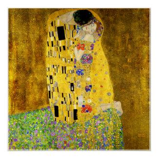 Poster Le baiser par Klimt