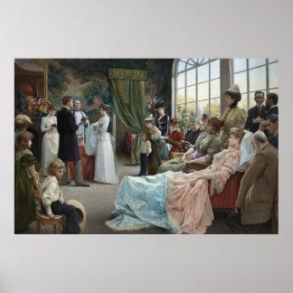 Poster Le baptême, 1892