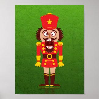 Poster Le casse-noix de Noël casse ses dents et va des