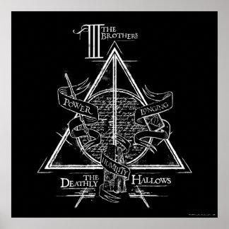 Poster Le charme   de Harry Potter DE MORT SANCTIFIE le