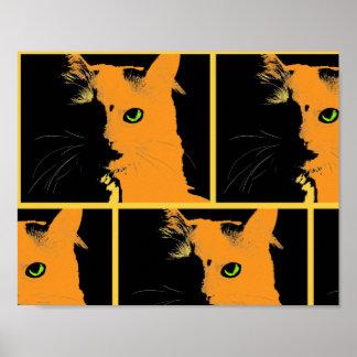 Poster Le chat de bruit