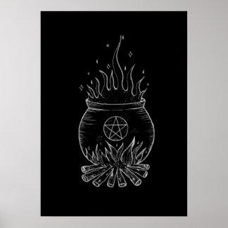 Poster Le chaudron de la sorcière
