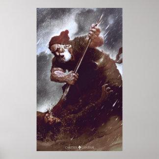 Poster Le duel du vieux patriote