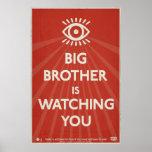 Poster Le frère vous observe affiche de propagande