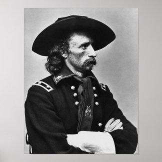 Poster Le Général Custer - guerre civile