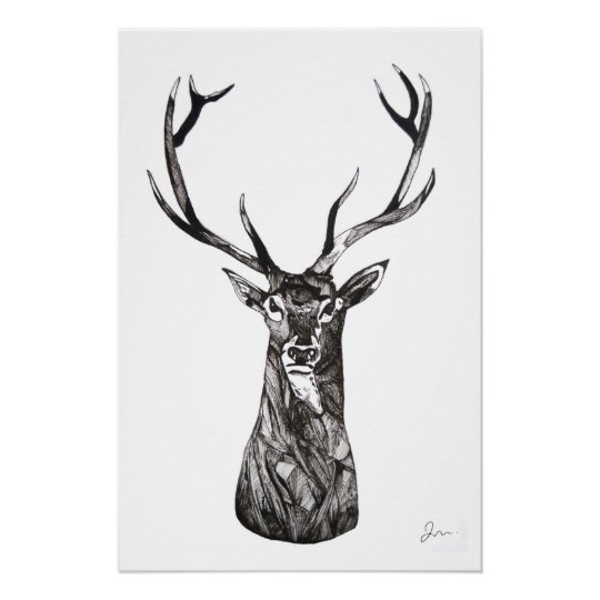 Poster Le Grand Cerf