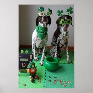 Poster Le jour de St Patrick poursuit l'affiche de valeur