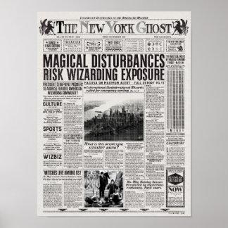 Poster Le journal de fantôme de New York