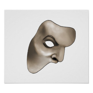 Poster Le masque