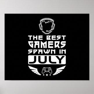 Poster Le meilleur frai de Gamers en juillet