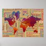 Poster Le monde
