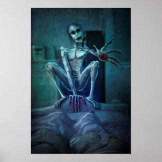 Poster Le monstre de râteau