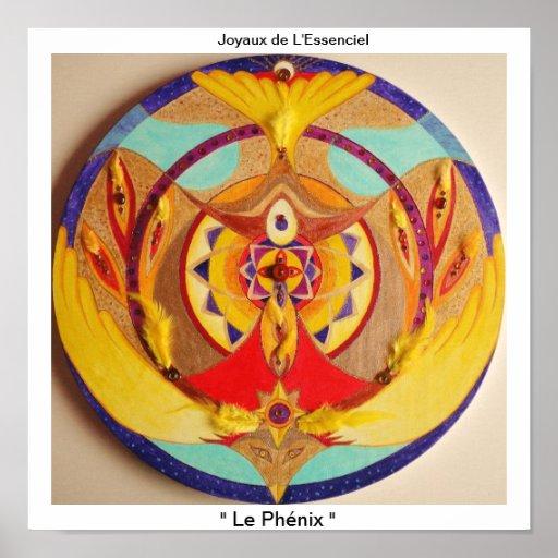 """Poster """" Le Phénix """""""