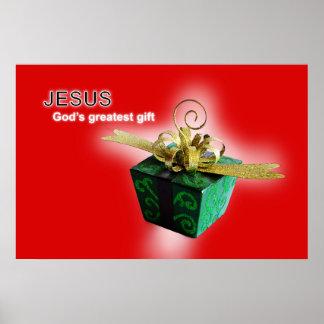 Poster Le plus grand cadeau de Dieu