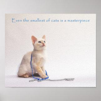 Poster Le plus petit de la copie de chats : Farrah