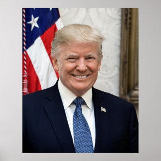 Poster Le Président Donald Trump