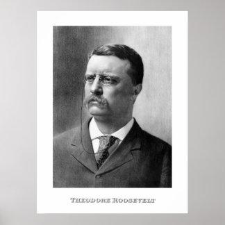 Poster Le Président Theodore Roosevelt