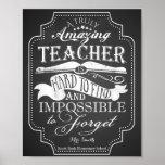 Poster Le professeur extraordinaire est impossible à