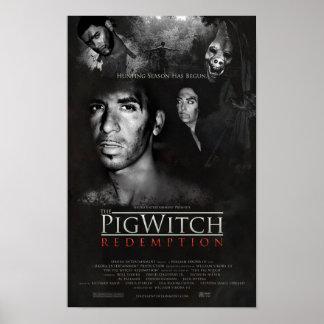Poster Le rachat de sorcière de porc