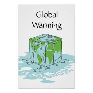 Poster Le réchauffement climatique est si sophistiqué