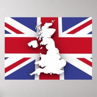 Poster Le Royaume-Uni