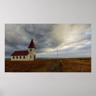 Poster L'église chez Hellnar