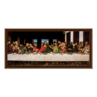 Poster Leonardo da Vinci - art de Renaissance de dernier