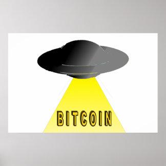 Poster Les aliens veulent Bitcoin aussi