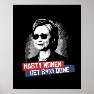 Poster Les femmes méchantes obtiennent S--- Fait --