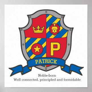 Poster Les garçons de Patrick appellent la signification