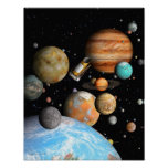Poster Les mondes de Kepler