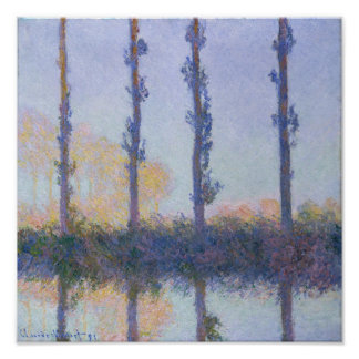 Poster Les quatre arbres