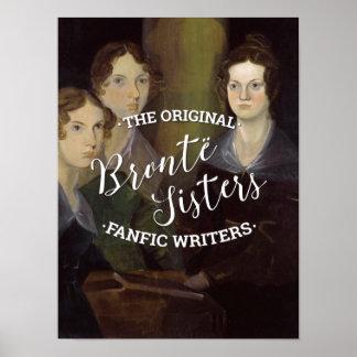 Poster Les soeurs de Bronte - les auteurs originaux de