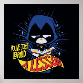 """Poster Les titans de l'adolescence vont !   Raven """"a"""
