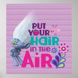 Poster Les trolls | ont mis vos cheveux dans le ciel 2