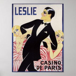 Poster Leslie !
