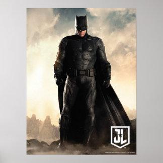 Poster Ligue de justice | Batman sur le champ de bataille